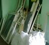 окна после демонтажа