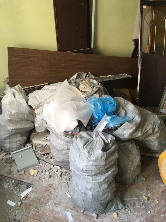 Вывоз мусора 2,3,4 тонны