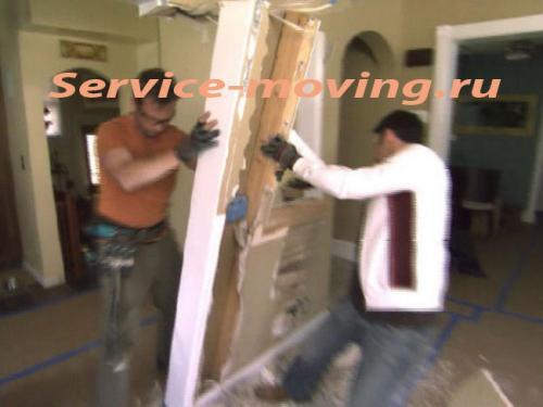 demontazh dveri - Подготовка к ремонту